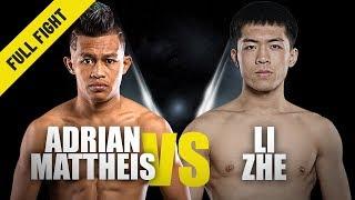 Adrian Mattheis vs. Li Zhe   ONE Full Fight   Hot Streak   July 2019