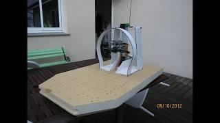 Fabrication Hydroglisseur moteur OS 7,5 Cc ; Hydrographer manufacture ; modelisme