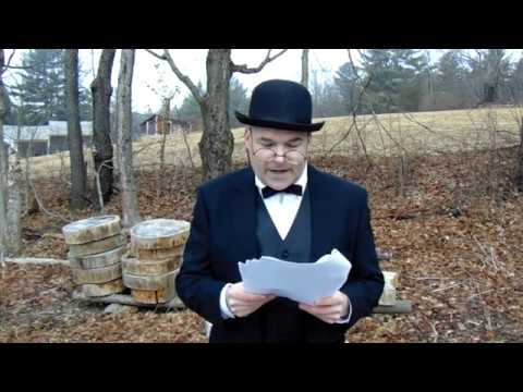 """""""Winston Ridley"""" Eulogy for free stater Bob Hull (Churchill impersonation)"""