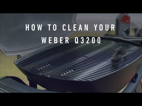 How To Clean Your Weber Q 3200