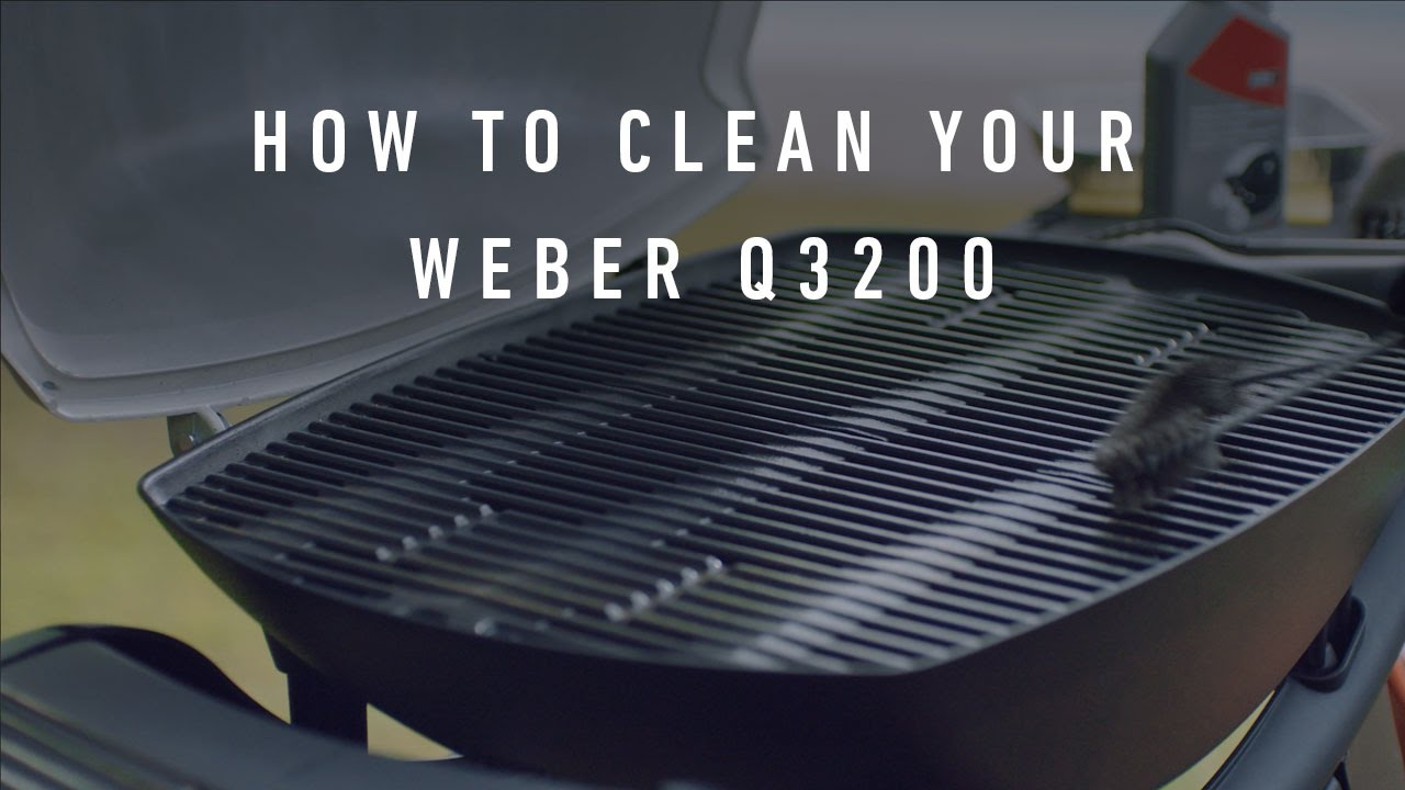 Weber Gasgrill Test Q 3200 : How to clean your weber q 3200 youtube