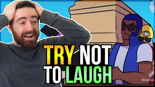 You LAUGH You LOSE - BRAWL STARS Funny Moments!
