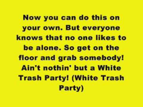 Eminem - White Trash Party (Lyrics on Screen)