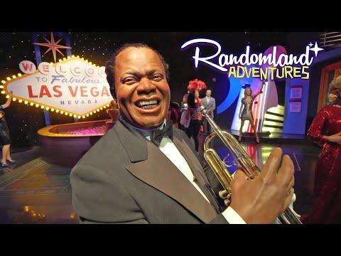 The Las Vegas Strip - Madame Tussaud's And Free Flamingos!