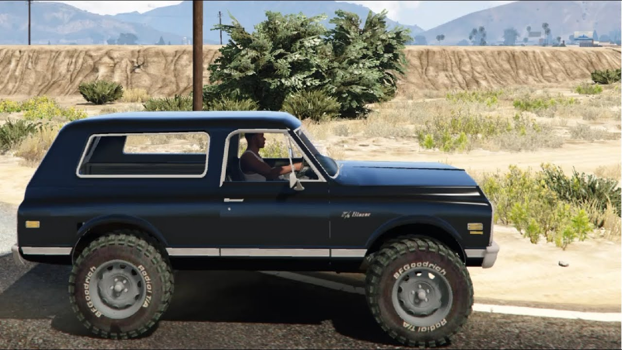 gta v 1972 chevrolet blazer k5 1 0 enromovies youtube. Black Bedroom Furniture Sets. Home Design Ideas