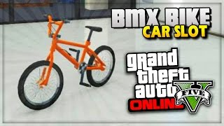 GTA 5 Online Glitches STORE BMX Bike in Garage Cars Slot Trick! - (GTA V Gameplay)