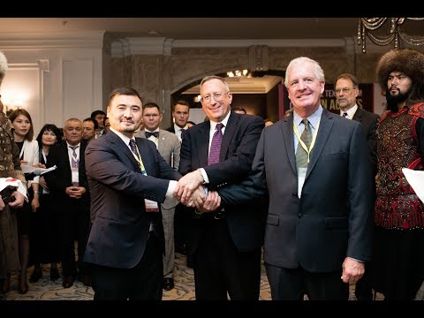 Video about the Seventh Central Asia Trade Forum