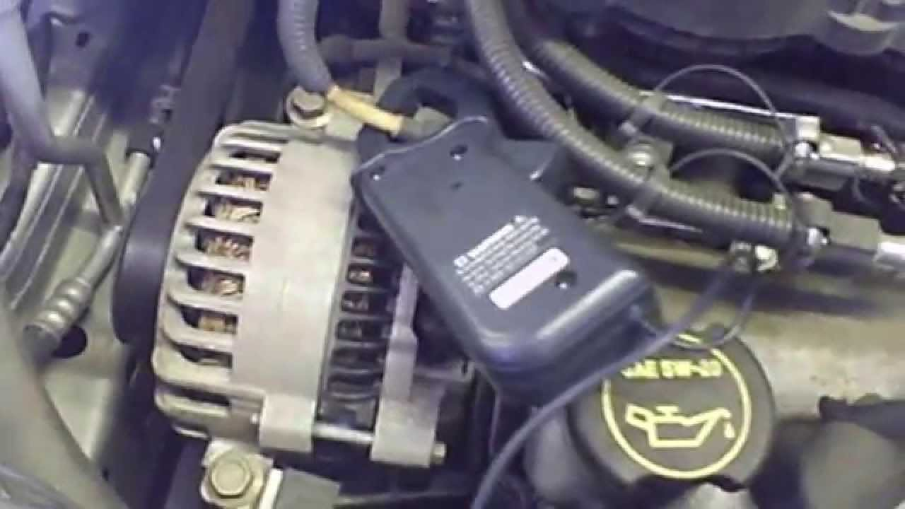 maxresdefault alternator replacement ford windstar 1999 2003 scope shows bad  at gsmx.co