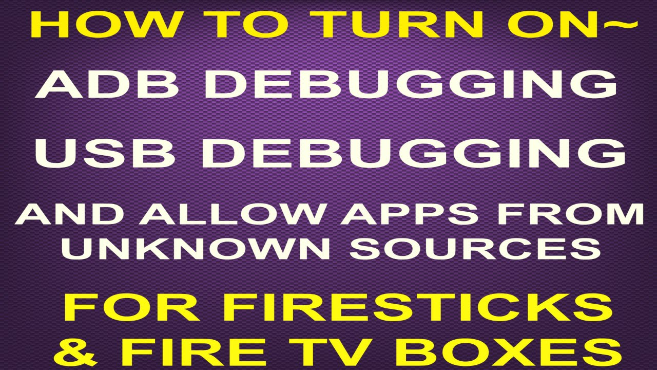 how to turn off usb debugging