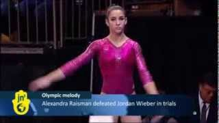 'Hava Nagila' to Play at 2012 Olympic Games: Israeli Gymnast Alexandra Raisman to use Hebrew Song