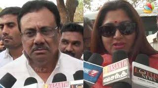 Kushboo And Elangovan Slam Modi And Jayalalitha