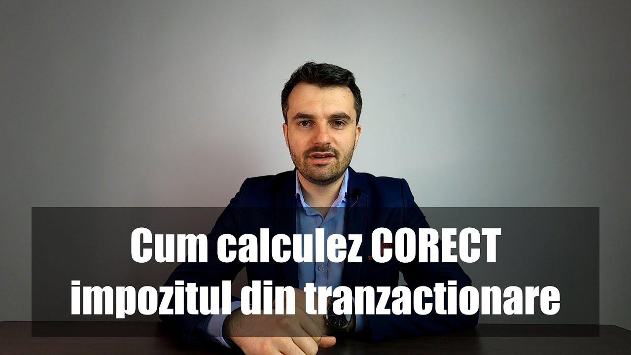 impozitul pe tranzacționarea în valută