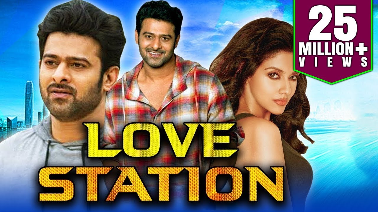 Love Station  South Indian Movies Dubbed In Hindi Full Movie Prabhas Charmy Kaur Asin