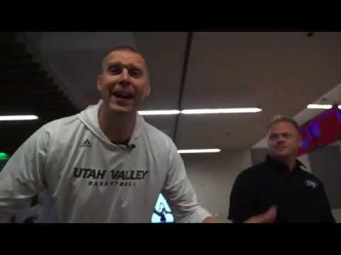 UVU Basketball: Media Day Bowling