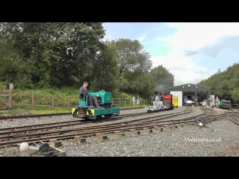 Apedale Valley Light Railway Contractor's Delight Event.