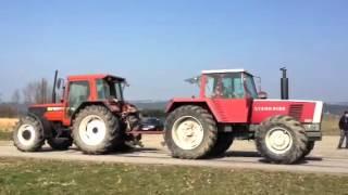 Fiat f130 gegen Steyr 8160