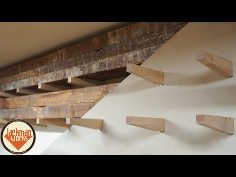 Floating Lumber Rack - You Suck at Woodworking