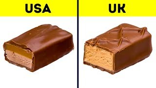 10+ Popular Foods That Are Different in the US