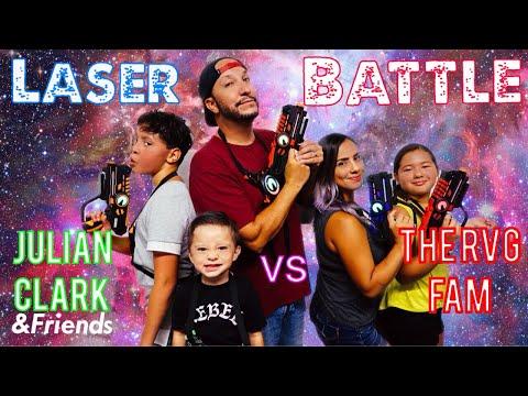 Laser Tag w/ The RVG Fam & Friends - ODM 99.1 KGGI | Julian Clark