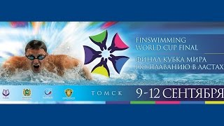 финал кубка мира по плаванию в ластах в томске 9 12 09 2016   cmas finswimming world cup final 2016