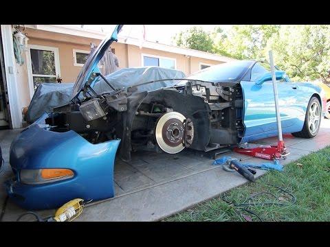 Cutting Up A Corvette