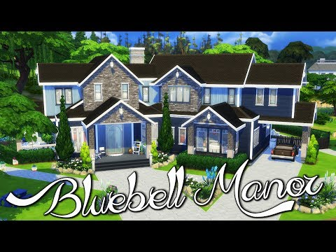 Bluebell Manor | Part 2 | Parenthood Game Pack | Sims 4 Speed Build