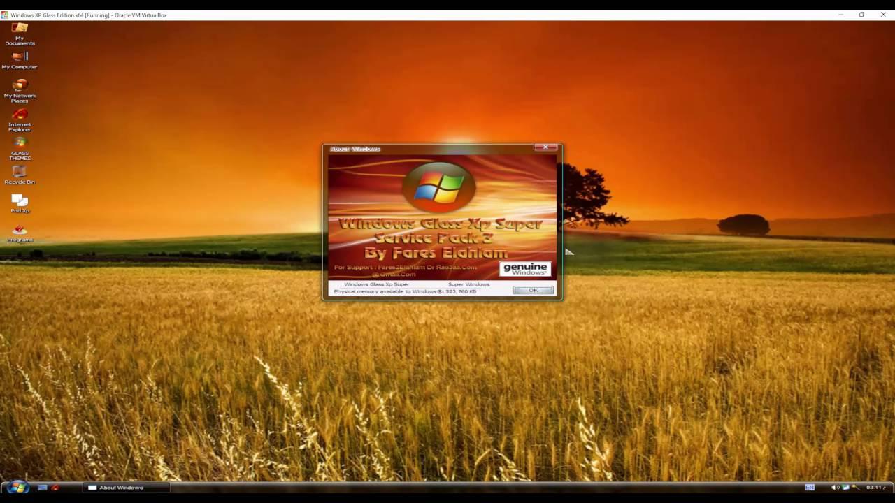 Windows XP Glass Super - YouTube