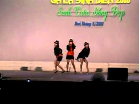 3K (Yuri, Mixx, Trang) - Nhip dap giac mo (Beat of Dream) (GALA Sinh vien DHNN 2009)