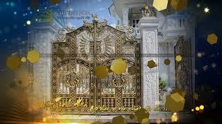 Cổng nhôm đúc Bắc Ninh