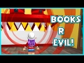 ROBLOX ESCAPE THE EVIL BOOK STORE OBBY | RADIOJH GAMES