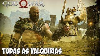 God of War PS4 - Derrotando Todas as Valqurias e a Rainha Sigrun
