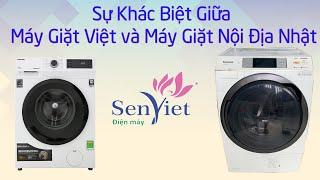 Sự Khác Nhau Giữa Máy Giặt Nhật Nội Địa và Máy Giặt Thông Thường | Điện Máy Sen Việt