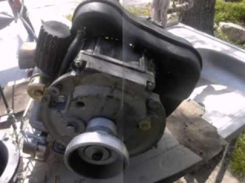 видео: Как заменить моторное масло в мотоблоке mtd???