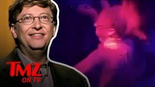 Bill Gates Tears Up The Dance Floor with Hot Chicks!!! | TMZ TV