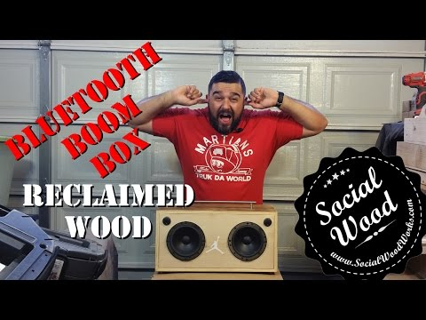 DIY How to make the BEST Bluetooth Speaker EVER! - YouTube