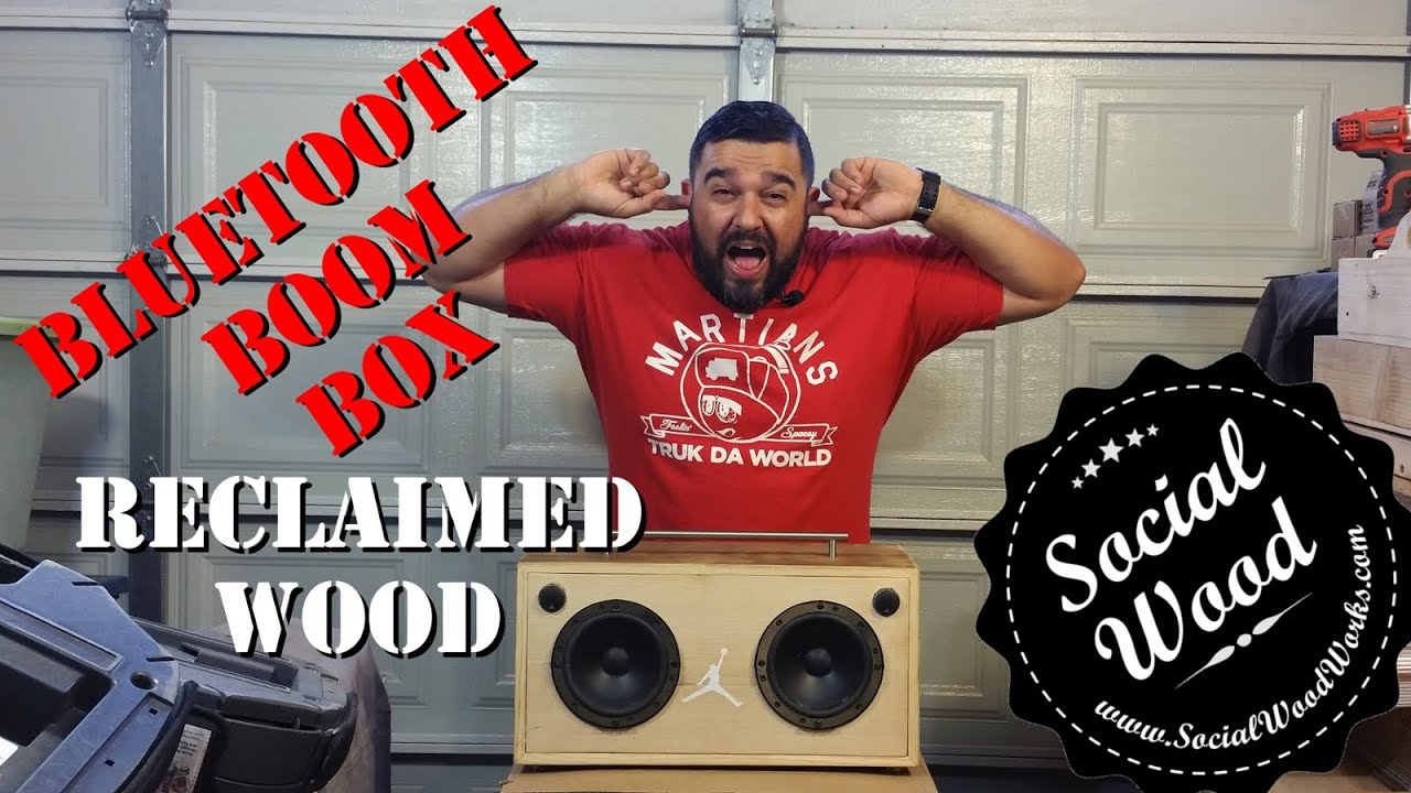 Diy How To Make The Best Bluetooth Speaker Ever Youtube