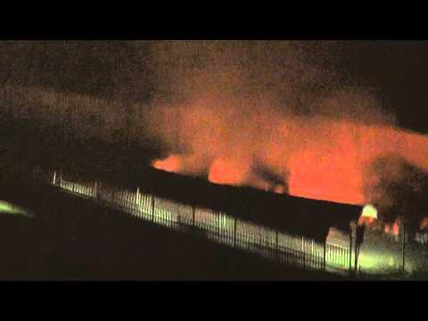 burning plastic toxic rubbish near Cheras LRT again during night