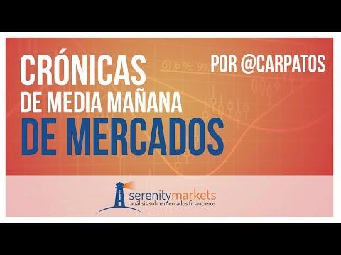 Crónica media sesión bolsas y mercados financieros 30 11 2018 por Serenitymarkets