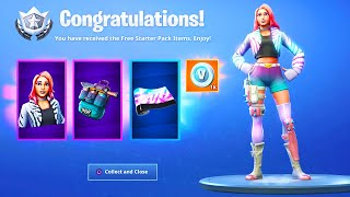 The NEW STARTER PACK in Fortnite.. (FREE ITEMS)