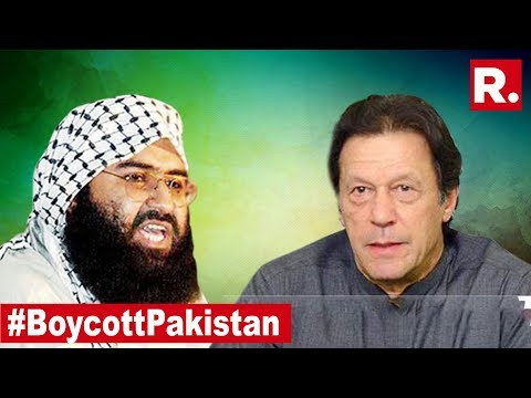 Pak PM Imran Khan Officially Giving Cover To Pulwama Mastermind? #BoycottPakistan