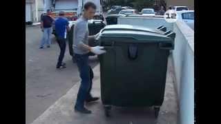 Установка новых контейнеров для мусора в Йошкар-Оле(, 2014-08-26T15:38:40.000Z)