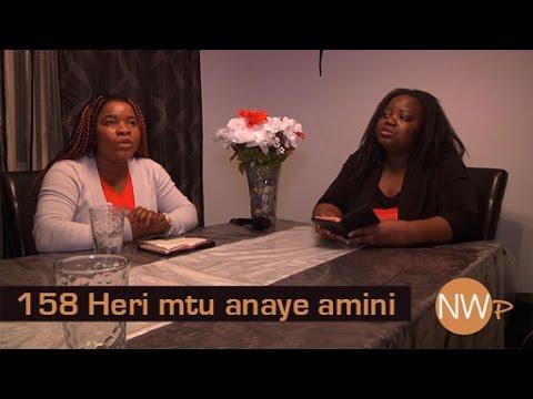 158 Heri mtu anaye amini - Nyimbo za Wokovu