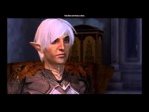 Dragon Age 2: Fenris & Witty LadyHawke Romance (Beginning to End)