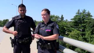 Toronto Police Rescue Man From Overpass