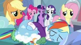 Rainbow Dash triste