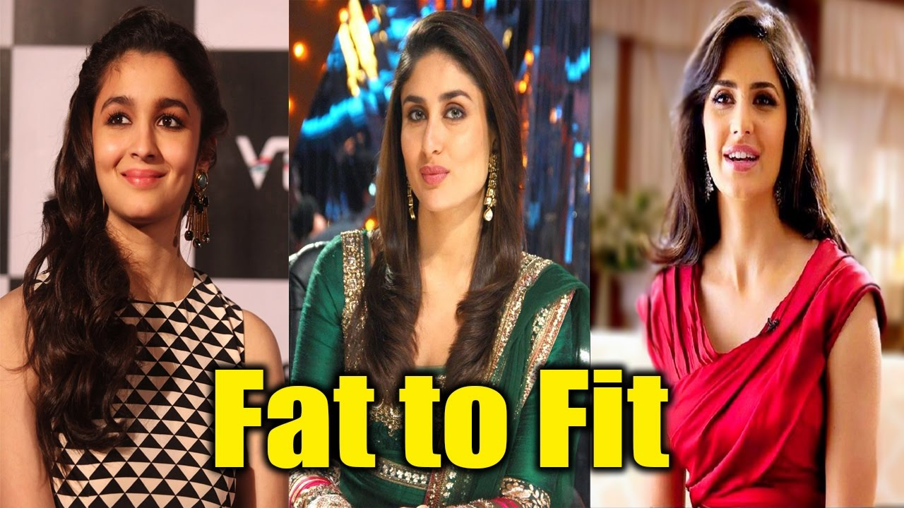 bollywood stars before & after weight loss fat to fit - youtube