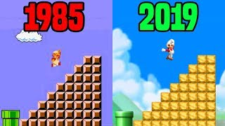 New Super Mario Bros. Retro Remix (Mario Bros 1 REMAKE)