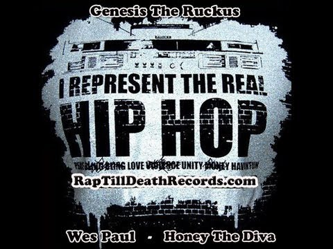 Real Hip Hop By Ruckus,Wes Paul,Honey The Diva (NEW) Produce By Alchemist