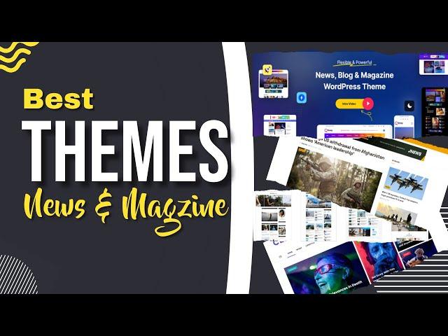 Best WordPress Themes   Highly Optimized WP Themes   Blog   News & Magazine Themes