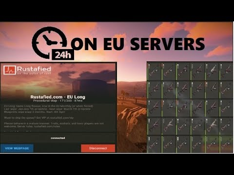 RUST | 24 HOURS OF PVP ON EU SERVERS (RAID DEFENCE + COUNTER RAID) thumbnail